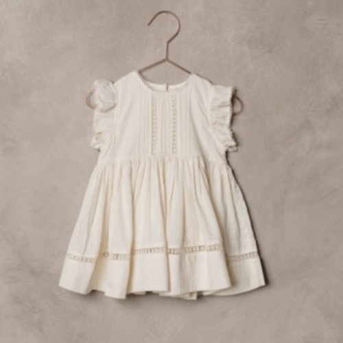노라리 SS21 / Isla Dress - Ivory (NORALEE S/S21)