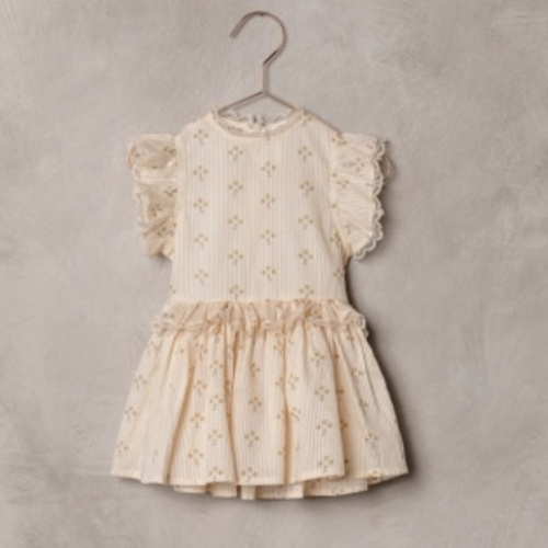 노라리 SS21 / Alice Dress Vintage Marigold - French Vanilla (NORALEE S/S21)