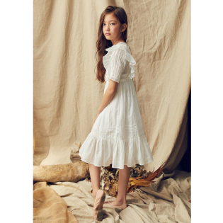Nellystella SS20 / 넬리스텔라 드레스 Caroline Dress (Bright White)