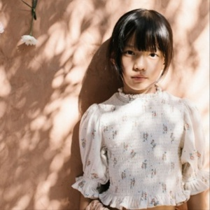 릴루 LIILU SS21 / Bettina Smocked Blouse - Summer Blossom